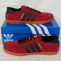 Adidas Hamburg Red Black (2)