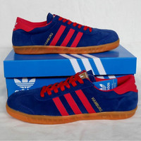Adidas Hamburg Blue Red (2)