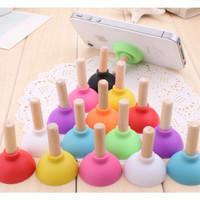 Stand Handphone bentuk pompa wc mini colourful lucu unik murah HHM086