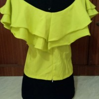 Blouse Yellow Oor chin