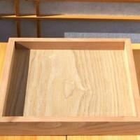 20x20cm Wooden Tray nampan kayu unik kotak kayu seserahan hantaran