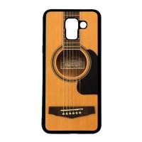 CARSTENEZIO Case Casing SAMSUNG J6 Softcase Motif Unik Gitar Akustik 2