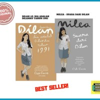 Paket Novel Dilan #2 1991 + Milea [ORIGINAL]