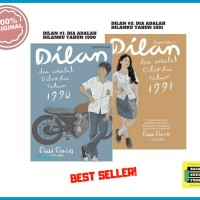 Paket Novel Dilan #1 1990 + Novel Dilan 2# 1991 [ORIGINAL]