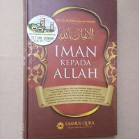 Original | Buku Rukun IMAN KEPADA ALLAH | Ali Muhammad Ash-Shallabi