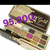 Chocolate te gold eyeshadow palet