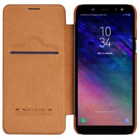 Nillkin Original Qin Series Leather case for Samsung Galaxy A6 2018