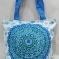 Tote Bag Tas Wanita Mandala Dreamcatcher Branded