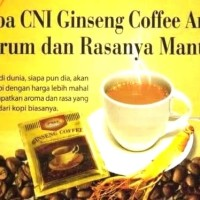 Ginseng kopi cni asli original produk 100 persen isi 20 sachet