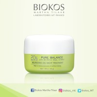 Biokos Pure Balance Nourishing Gel Night Treatment