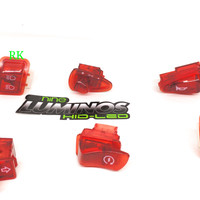 SAKLAR MOTOR MATIK HONDA TRANSPARAN SCOOPY | SWITCH SET VARIO BEAT RED