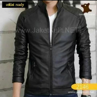 jaket kulit domba asli model terbaru