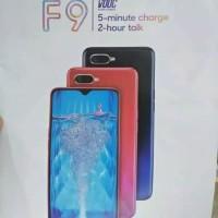 Oppo F9 4/64 RAM 4GB INTERNAL 64GB-Grs. Resmi- Red & Dark blue