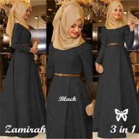 Zamirah Hijab Busana muslim pesta terbaru best seller Gamis terbaru