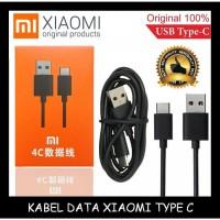 KABEL DATA XIAOMI TYPE C / TIPE C MI5 MI6 MI5 MI4C MIMAX PACK ORIGINAL