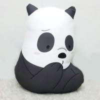 Boneka We Bare Bear Size Large (40 cm) - Panda Half Body