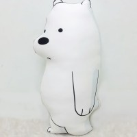 Boneka We Bare Bear Size Small (35 cm) - Ice Bear Full Body