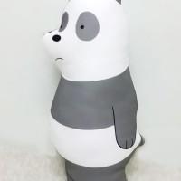 Boneka We Bare Bear Size Large (50 cm) - Panda Full Body