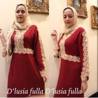 Daster arab/india/dubai/turki dlusia fulla rc dress busui