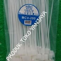 kabel ties label/marker ties 20cm putih