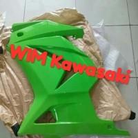 Fairing fering body samping ninja 250 karbu hijau Original Kawasaki
