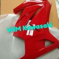 Fairing fering samping ninja 250R 250 karbu merah Original Kawasaki
