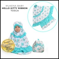 Mukena Terbaru Anak Hello Kitty Ribbon Tosca Pink Sz Baby Tas Ransel
