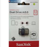Flashdisk Sandisk Ultra 3.0 Dual Drive Otg 64GB / Memory Sandisk Otg