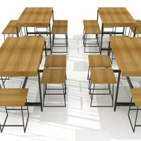 Meja makan meja cafe meja paten meja lipat meja belajar