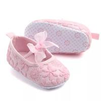 sepatu prewalker bayi anak perempuan pink