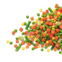 FROZEN MIXED VEGETABLES / MIX VEGETABLES / VEGETABLES MIX 4 WAYS 1 KG