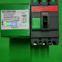 MCCB EZC100N 18kA 3P 15,20,25,30,40,50A
