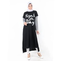 JEHFashion Long Dress Gamis - Milea