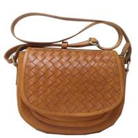 Sling bag wanita kulit sapi asli coklat ori leather mini pesta murah