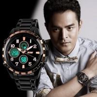 SKMEI Fashion Watch 1021 Original Water Resistant 50M - Black Gold