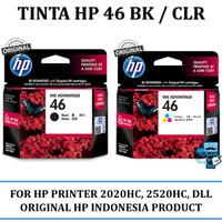 Tinta HP 46 Black / Colour Original Ink Cartridge Original For 2520HC