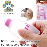 Botol dot susu anjing nursing bottle kucing musang otter hewan 60ml
