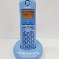 Telepon Wireless Panasonic KX-TGB210 (Biru) Telepon Rumah KX-TGB 210