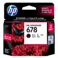 Catridge Printer HP 678 Black -Tinta Original HP678