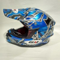 barang bagus. helm GM cross. fullface. standart SNI. best hot product