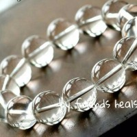Gelang Batu Natural Clear Quartz 10m