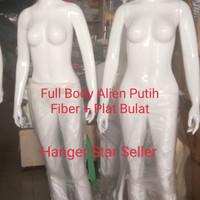 Manekin Full Body Alien Cewek Fiber ( Khusus Gosend)