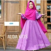 maxi alda lavender terusan maxi long dress hijab terusan long gamis