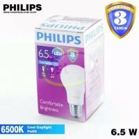 Lampu LED Bulb Philips 6,5 Watt White