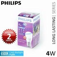 Lampu LED Bulb Philips 4 Watt White