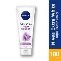 Nivea Body Serum Extra White Night Nourishing Hand & Body Lotion 200ml