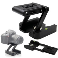 Tripod Z Flex Pan Tilt Head Flexible for DSLR Camera - Black