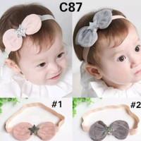 Bando bayi anak perempuan headband