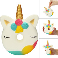 Squishy unicorn donut
