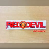 stiker manchester united red devil